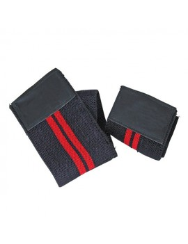 Best Body Nutrition Wrist bandages black-red