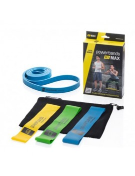 Let's Bands Powerbands SET MAX Trainingsband Theraband Gymnastikband