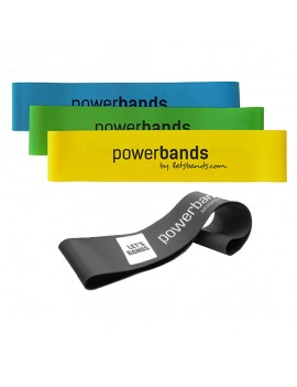 Let's Bands Powerband MINI Trainingsband Theraband Gymnastikband