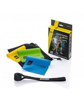 Let's Bands Powerbands SET FLEX Trainingsband Theraband Gymnastikband