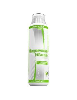 Best Body Nutrition Magnesium Vitamin Liquid, 500 ml Flasche