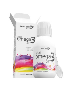 Best Body Nutrition - Vital Omega 3 Oil, 150ml Flasche