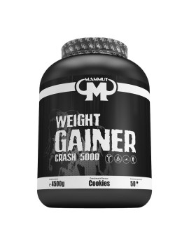 Mammut - Weight Gainer Crash 5000, 4500g can