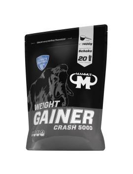 Mammut - Weight Gainer Crash 5000, 1400g Beutel - Schokolade