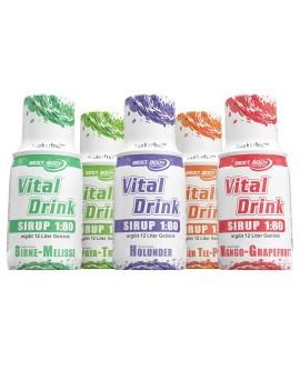 Best Body Nutrition Vital Drink Sirop, flacon concentré 150 ml