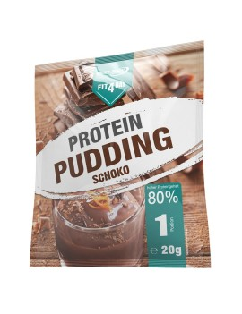 Fit4Day - Protein Pudding, 15 x 20g-Beutel - Schoko