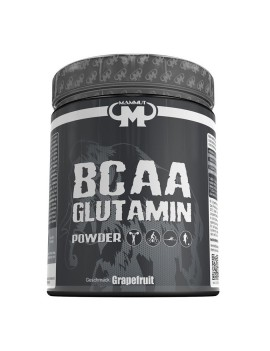 Mammut - BCAA Glutamine Powder, boîte de 450g, pamplemousse