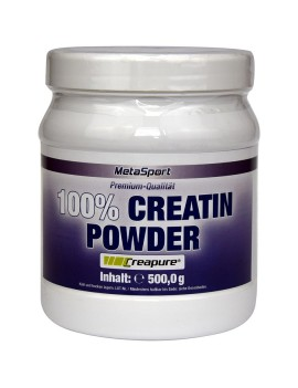 MetaSport - Creapure Monohydrate, boîte de 500 g