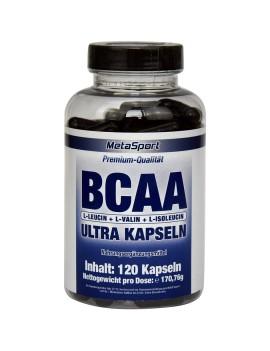 MetaSport - BCAA Ultra, 120 Kapseln Dose