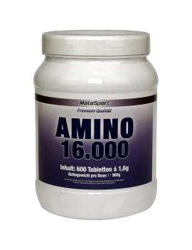 MetaSport - Amino 16000, 600 Kautabletten Dose