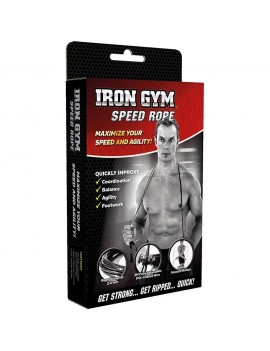 Iron Gym Wire Speed Rope Springseil