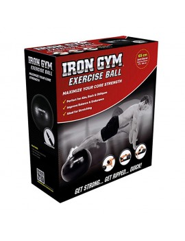 Iron Gym Exercise Ball 65 cm + Pumpe