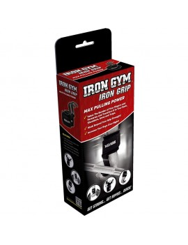 Iron Gym Iron Grip with a supported wrist
