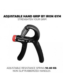 Iron Gym adjustable hand trainer, 10-40kg