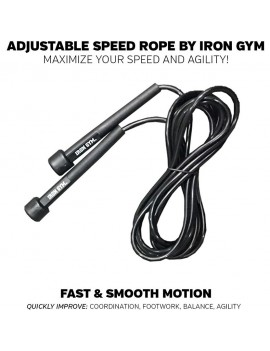 Iron Gym Adjustable Speed Rope Skipping rope