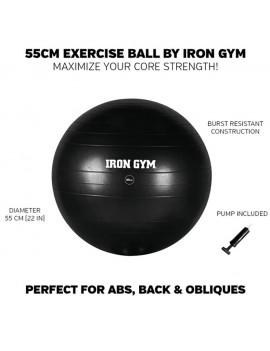 Iron Gym Exercise Ball 55 cm + Pumpe