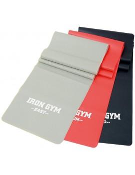 Iron Gym Exercise Band 3er-Set Fitnessband