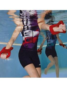 Beco Aqua Kick Box gloves, red