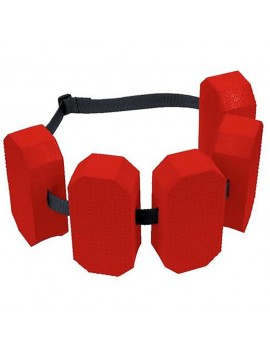 BECO swimming belt 5-block or 6-block red
