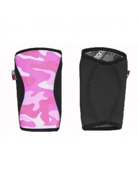 RockTAPE KneeCaps Pink Camo - 7mm Knieschützer Fitness Training