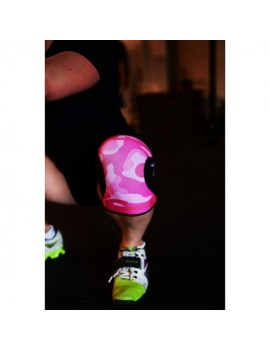 KneeCaps Pink Camo - 7mm - RockTAPE