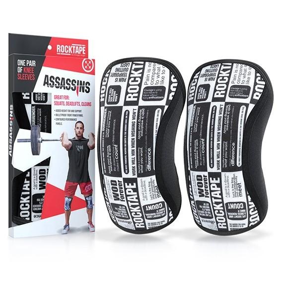 RockTAPE Assasins Knee Sleeves - 7mm Manifesto