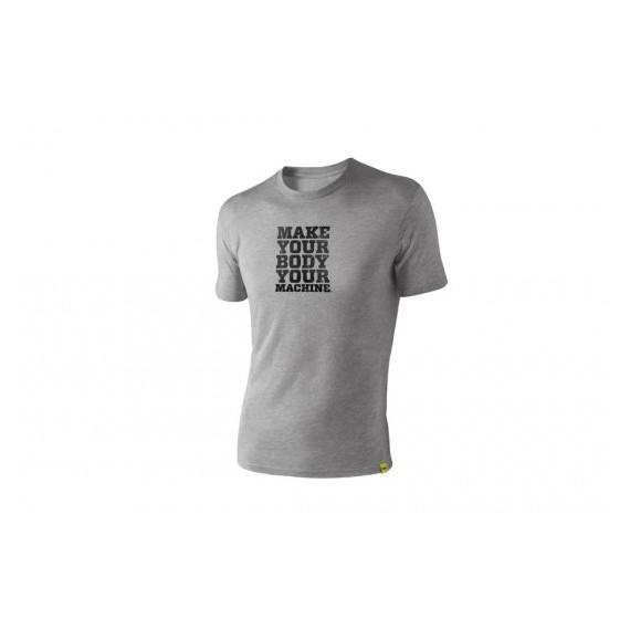"TRX Männer T-Shirt Grau ""Make Your Body Your Machine"""